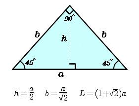 直角二等辺三角形